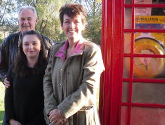 Defibrillator Launched by Graham, Ruby, Jo Churchill MP